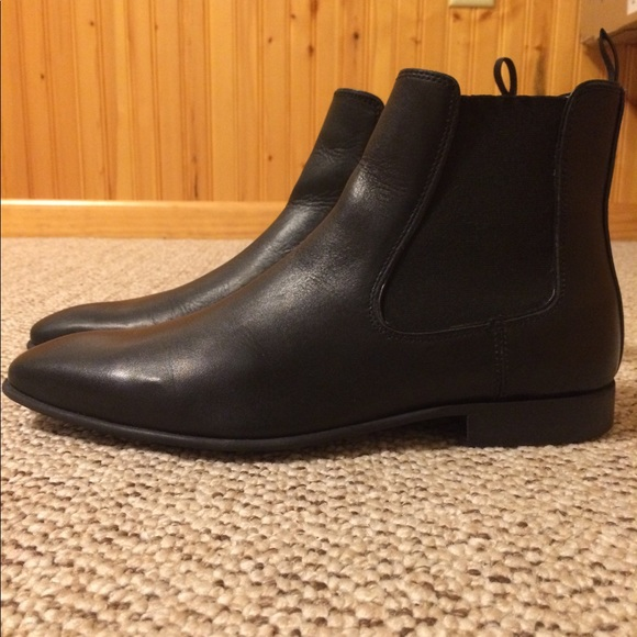 39924a8c82c Aldo Biondi-R Black leather Chelsea Boot